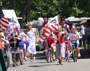 Fourth of July Parade - Netarts Bay Garden RV Resort