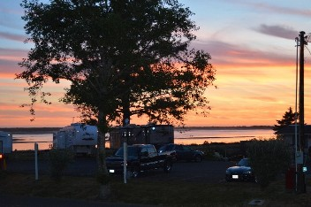Sunset - Netarts Bay Garden RV Resort