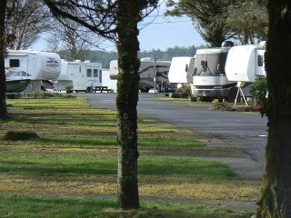 RVs - Netarts Bay Garden RV Resort