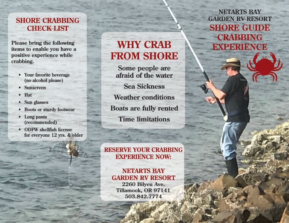 Shore Crabbing Booklet